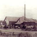 Old photo of St. Bonifacius Creamery