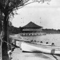 Old photo of Lake Harriet Bandshell